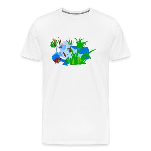 łabedz - Koszulka męska Premium