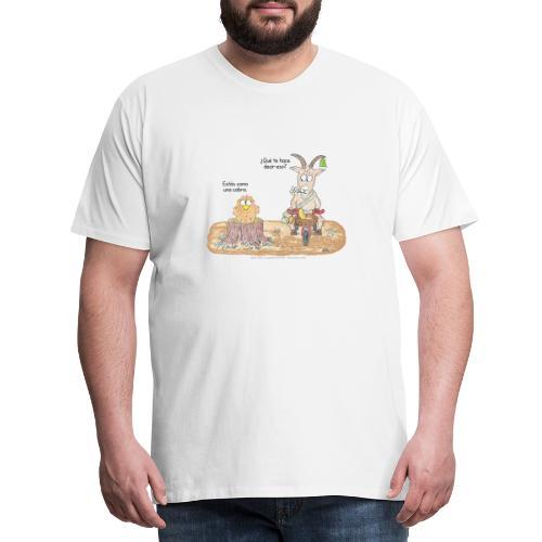 Estás como una cabra - Men's Premium T-Shirt