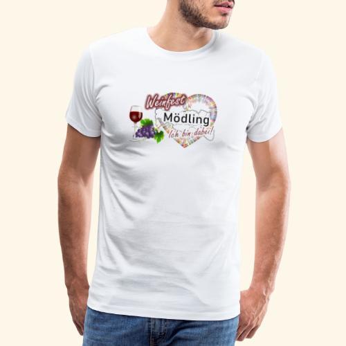 Weinfest in Mödling - Ich bin dabei! - Männer Premium T-Shirt