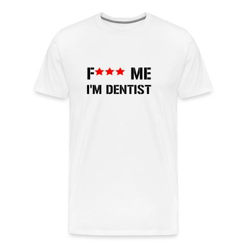 F me noir min png - T-shirt Premium Homme