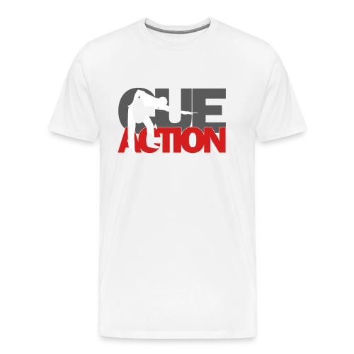 CueAction - Männer Premium T-Shirt