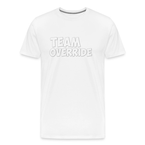 Team Override Mug Youtube - Men's Premium T-Shirt