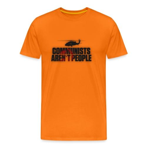 Communists aren't People (No uzalu logo) - Men's Premium T-Shirt