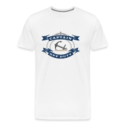 Captain Off Duty - Captain out of service - Men's Premium T-Shirt