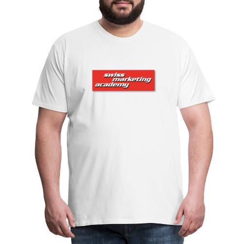 SWIMAC LOGO ROT - Männer Premium T-Shirt