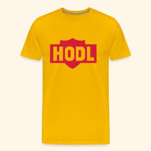 HODL TO THE MOON - Miesten premium t-paita
