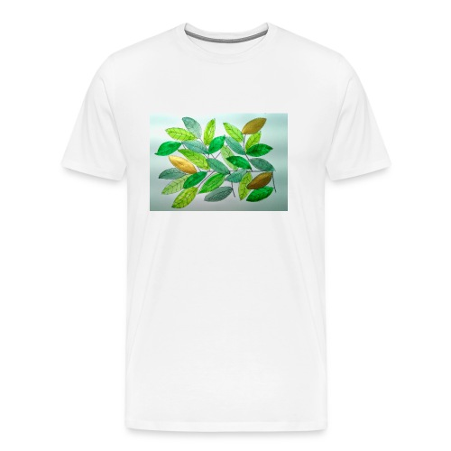 Feuilles - T-shirt Premium Homme