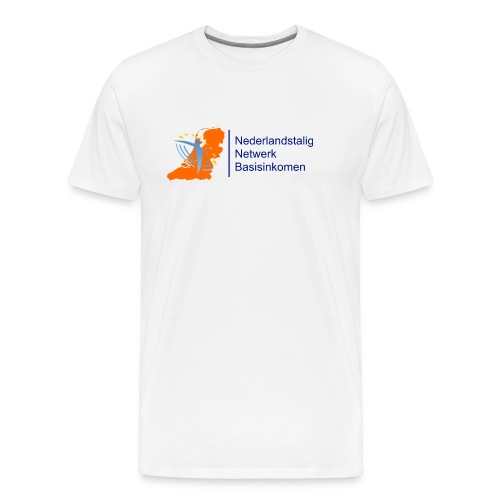 nederlandstalignetwerkbasisinkomen - Mannen Premium T-shirt