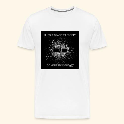 Hubble Telescope 30 Year Anniversary, abastract st - Premium-T-shirt herr