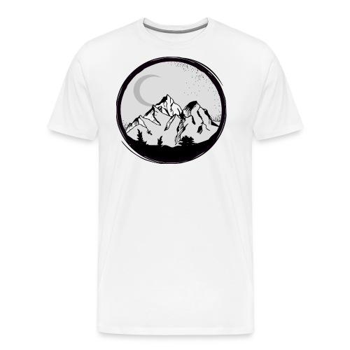 Mountain (klein) - Männer Premium T-Shirt