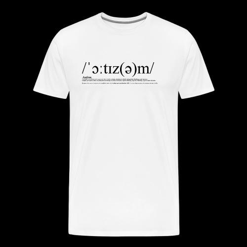 AUTISM BLACK - Men's Premium T-Shirt