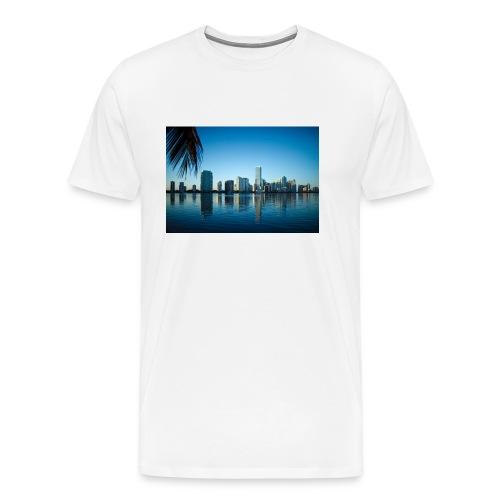 miami building very beutiful - T-shirt Premium Homme