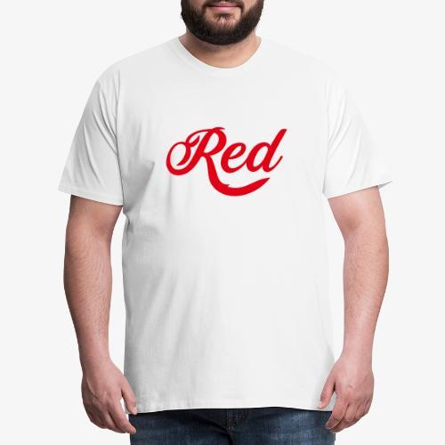 Red T-Shirt - Männer Premium T-Shirt