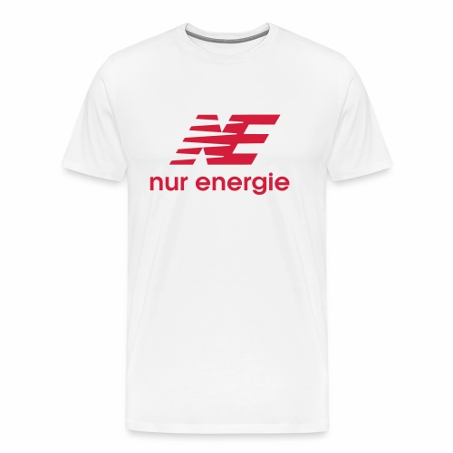 nur Energie - Männer Premium T-Shirt