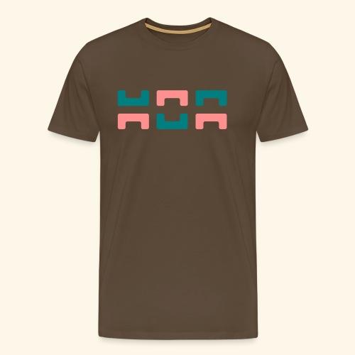 Hoa original logo v2 - Men's Premium T-Shirt