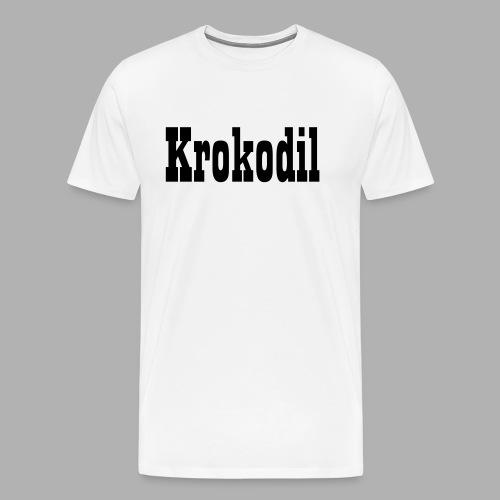 Krokodil - Männer Premium T-Shirt