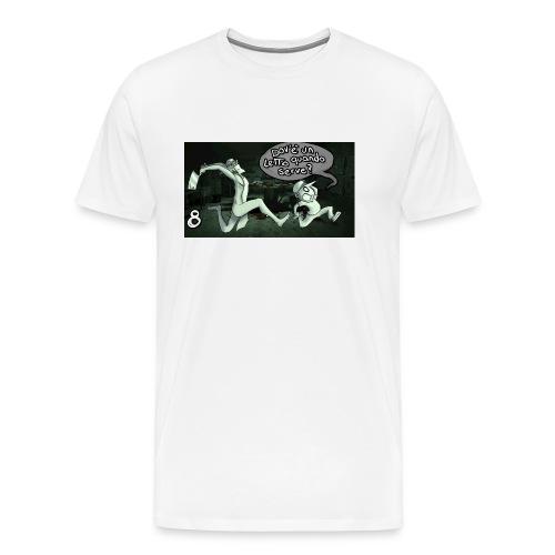 Outlast part8 cover jpg - Maglietta Premium da uomo