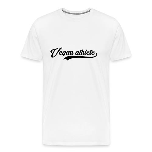 Vegan athete black - T-shirt Premium Homme