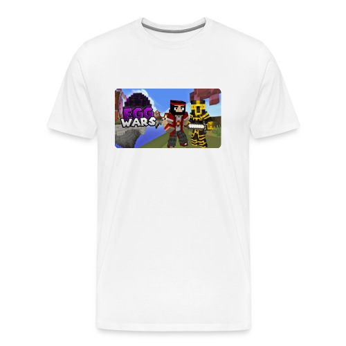 EggWars Manu y Massi - Camiseta premium hombre