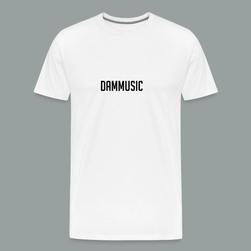 Dammusic Shirt Vrouwen - Mannen Premium T-shirt
