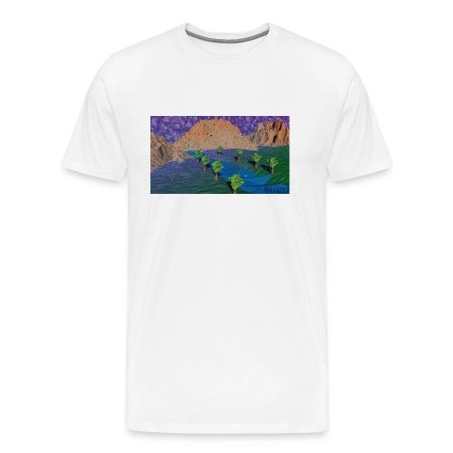Silent river - Men's Premium T-Shirt
