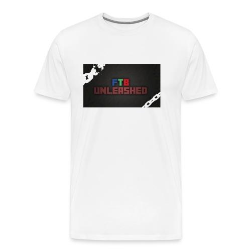 FEED THE BEST PILO CASE - Men's Premium T-Shirt