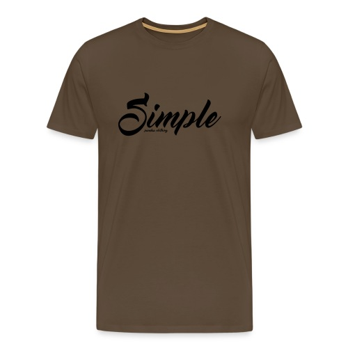 Simple: Clothing Design - Men's Premium T-Shirt