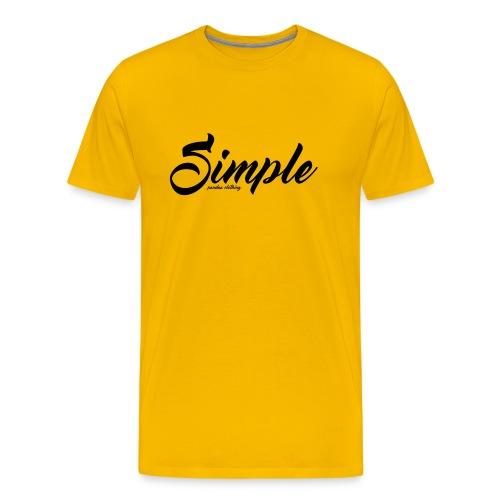 Simple: Clothing Design - Men's Premium T-Shirt