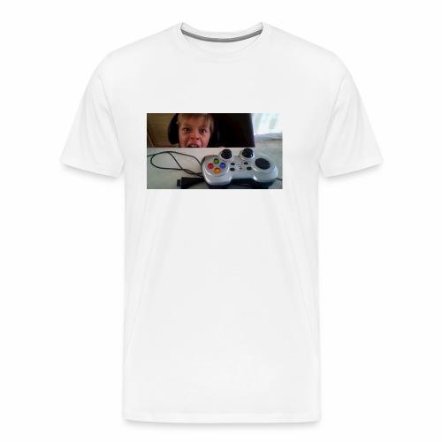 visage stupide de moi - T-shirt Premium Homme