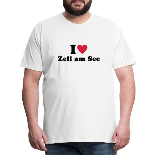 i love zell am see 1 - Mannen Premium T-shirt