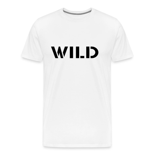 WILD Baseball shirt - T-shirt Premium Homme