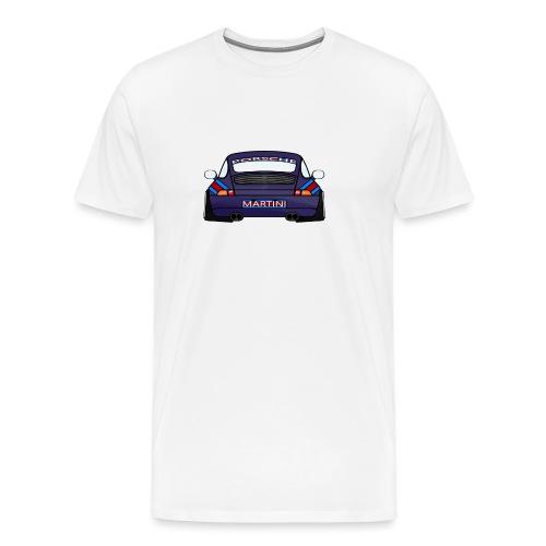 Magenta maritini Sports Car - Men's Premium T-Shirt