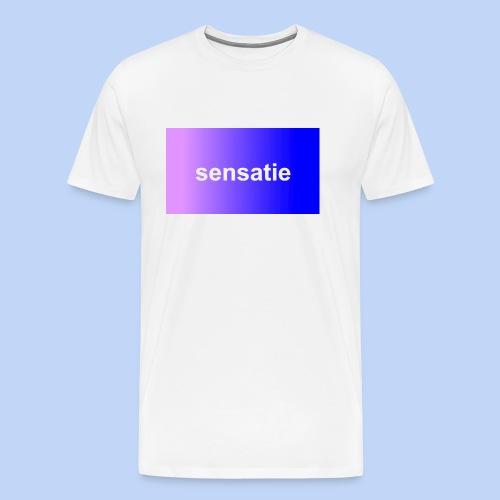 Sensatie - Mannen Premium T-shirt