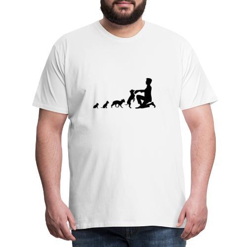 Chihuahua EVOLUTION - Männer Premium T-Shirt