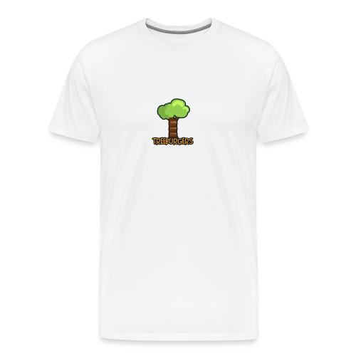 Treeburgers big logo - Men's Premium T-Shirt
