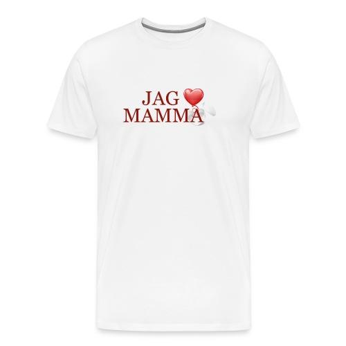 Jag älskar mamma - Premium-T-shirt herr