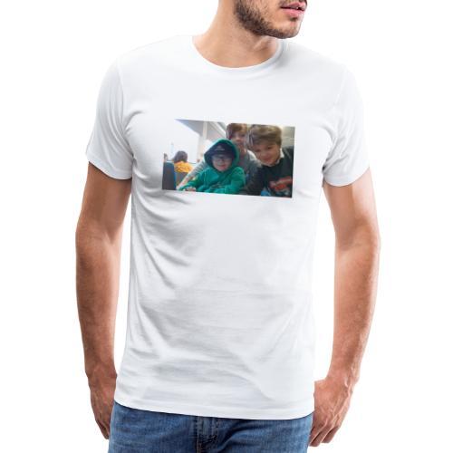 hihi - Premium-T-shirt herr
