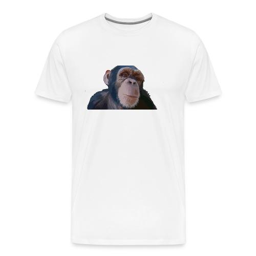 Cute monkey - Camiseta premium hombre