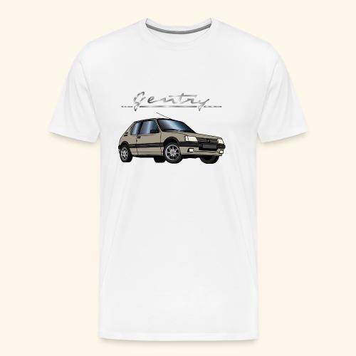 205 GTI 1,9 92 93 Gentry Gris Mayfair - T-shirt Premium Homme