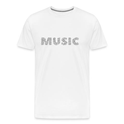 Music - Männer Premium T-Shirt