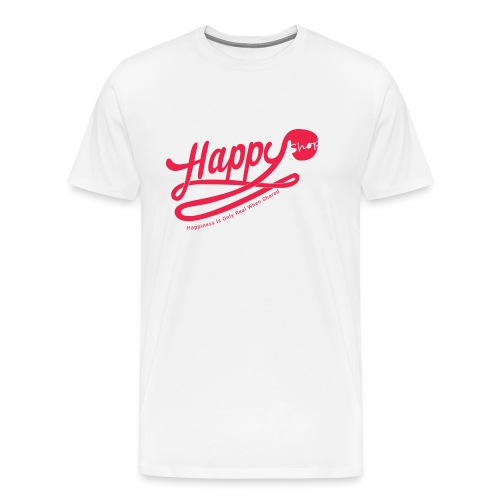 happy happiness - T-shirt Premium Homme