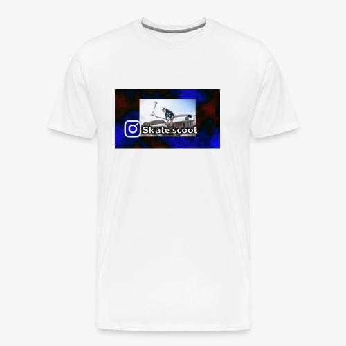 instagram name - Mannen Premium T-shirt