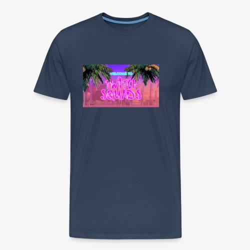 Welcome To Twitch Squads - Men's Premium T-Shirt