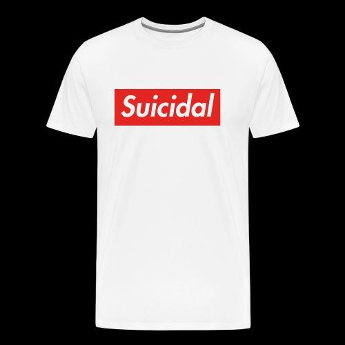 Suicidal Logo.png - Camiseta premium hombre