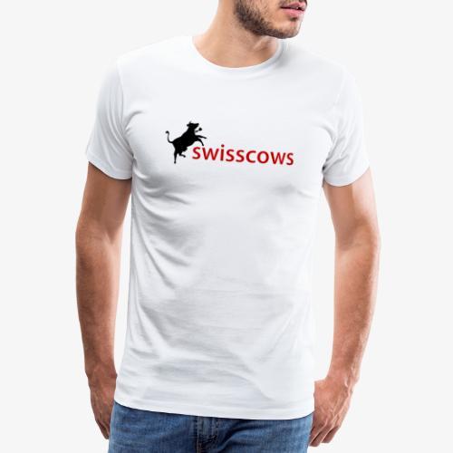 Swisscows - Männer Premium T-Shirt