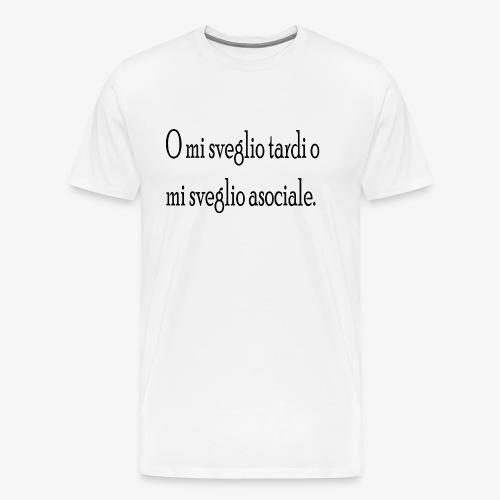 asociale - Maglietta Premium da uomo