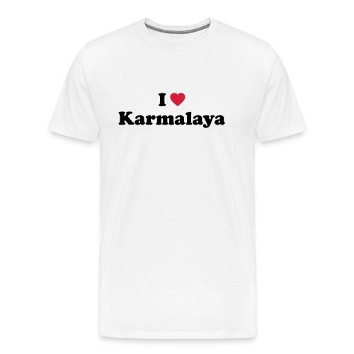 ilovekarmalaya a - Männer Premium T-Shirt