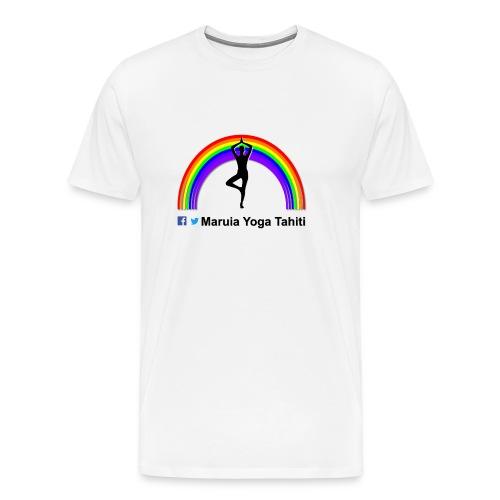 Logo de Maruia Yoga Tahiti - T-shirt Premium Homme