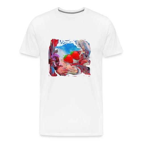 Wilde Erdbeeren - Männer Premium T-Shirt