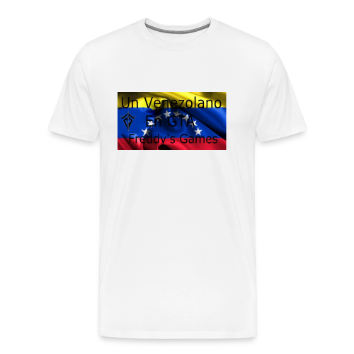 Alfombra De Mouse Un Venezolano En GTA - Camiseta premium hombre